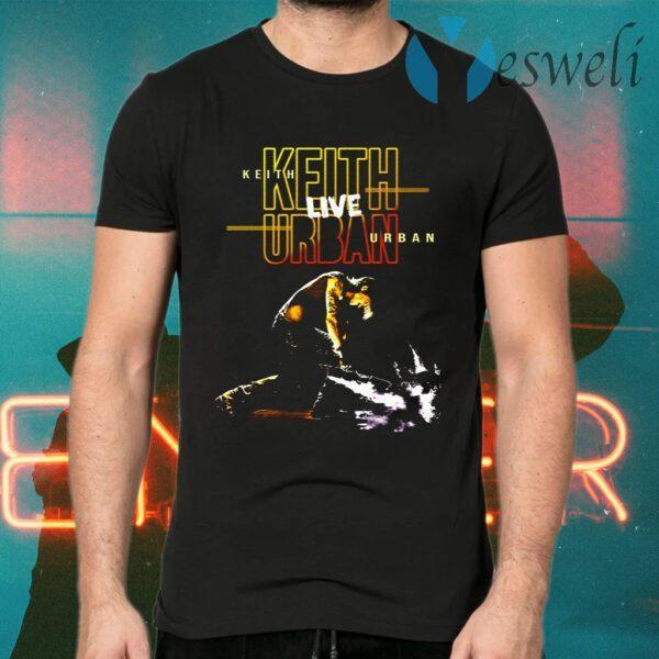 Keith Urban Band TOUR 2020 Guitar Smash T-Shirts
