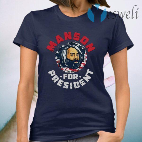 Manson For President T-Shirt