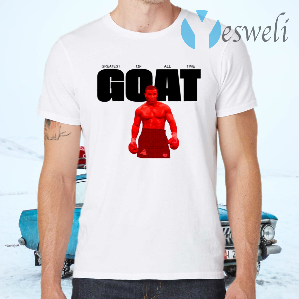 Mike Tyson Goat T-Shirts