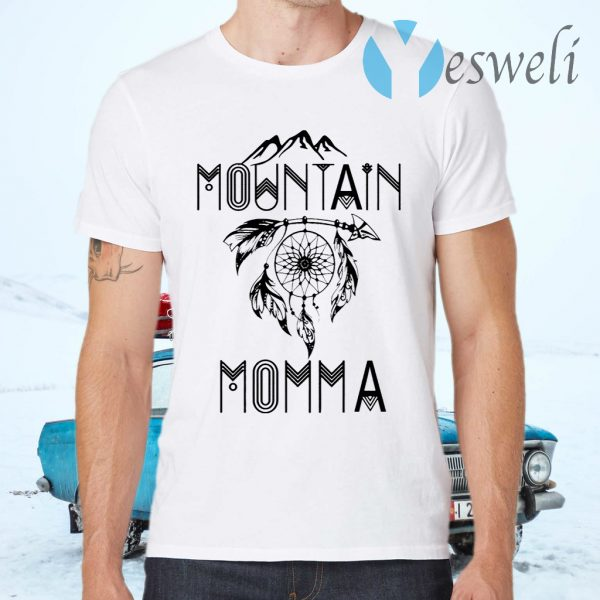 Outdoor Mountain Momma Dreamcatcher T-Shirts