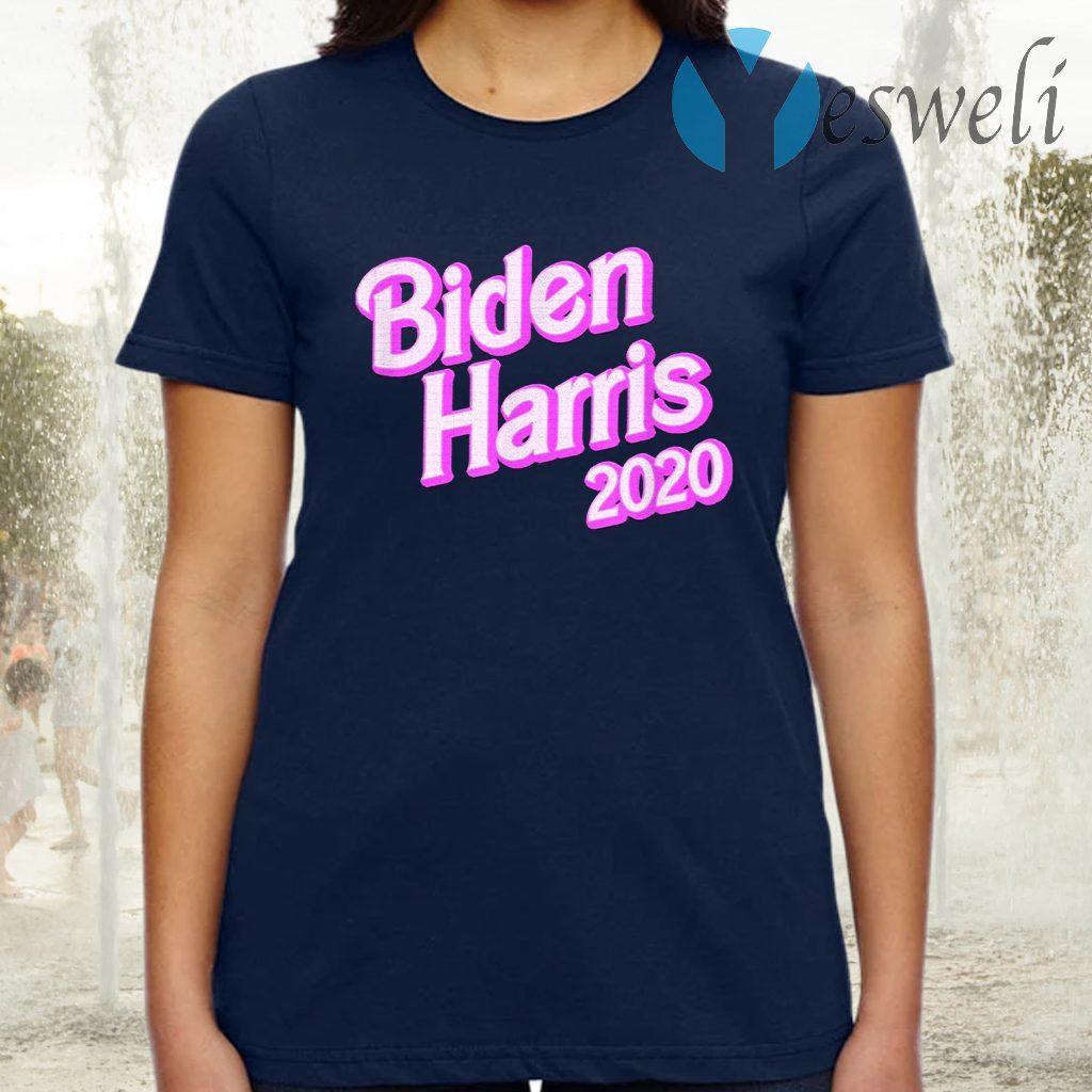 Pink Biden Harris 2020 T-Shirt