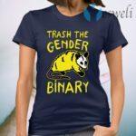 Raccoon Trash The Gender Binary T-Shirt