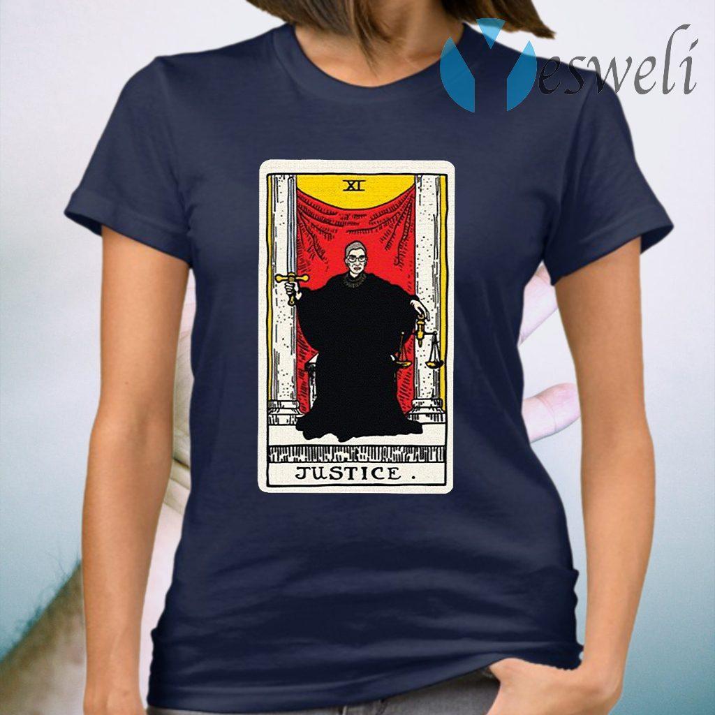 Ruth Bader Ginsburg justice tarot card T-Shirt