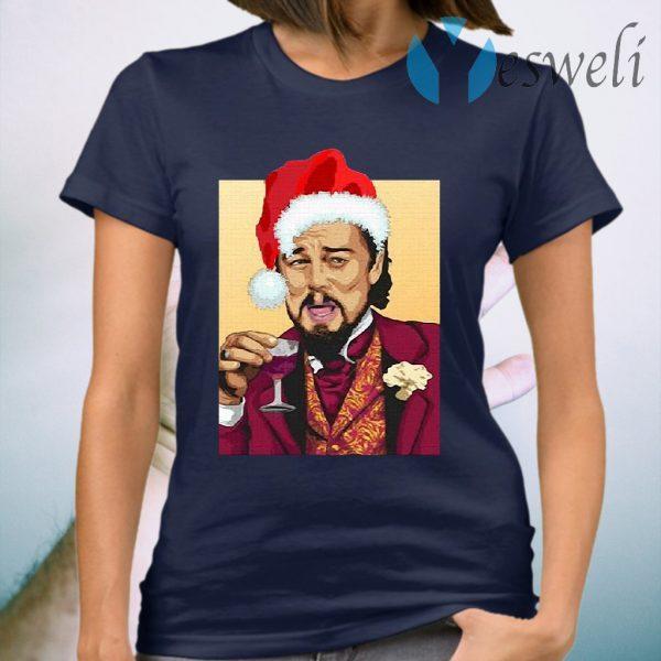 Santa Leonardo DiCaprio Christmas T-Shirt