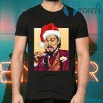 Santa Leonardo DiCaprio Christmas T-Shirts
