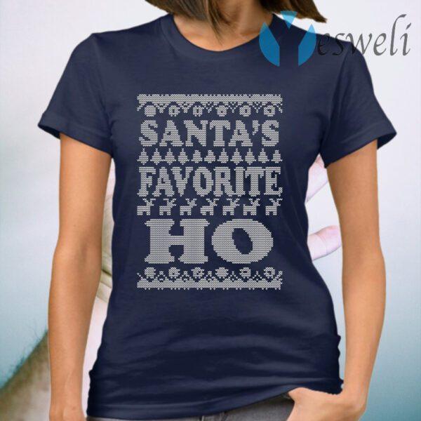 Santa's favorite ho Christmas T-Shirt