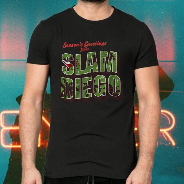 Seasons greetings from slam diego T-Shirts
