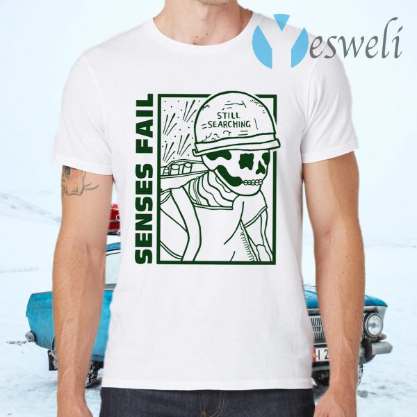 Senses fail T-Shirts