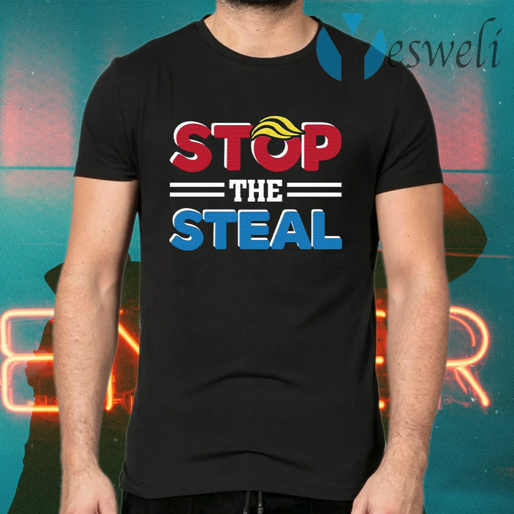 Stop The Steal – Fraud Results Voter 2020 Election Pro Trump Anti Biden T-Shirts