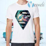 Superman Miami Dolphins vs Columbus Blue Jackets 2020 T-Shirts