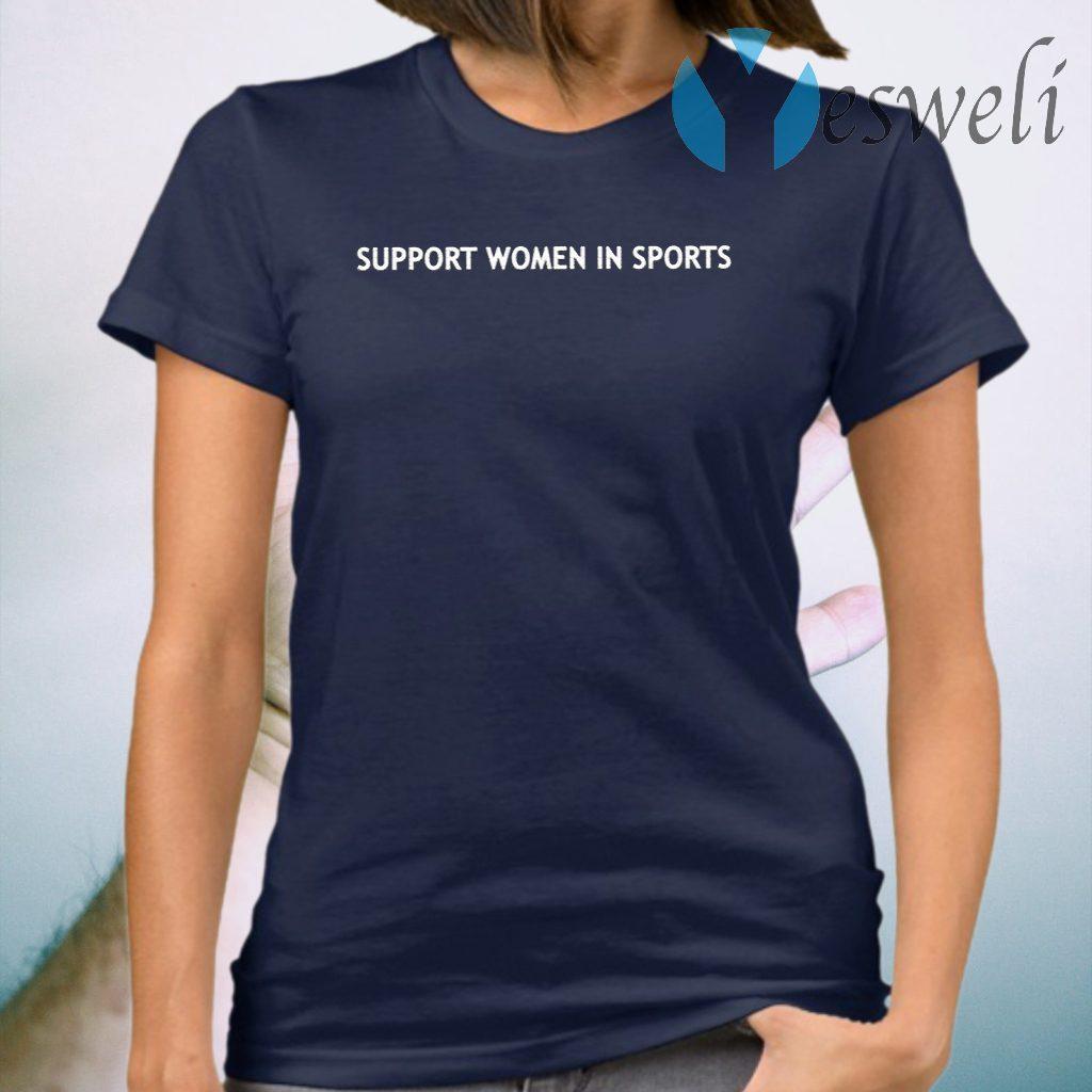 Support Women In Sport T-Shirt