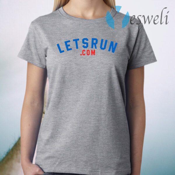 The LetsRun.com 20th Anniversary T-Shirt