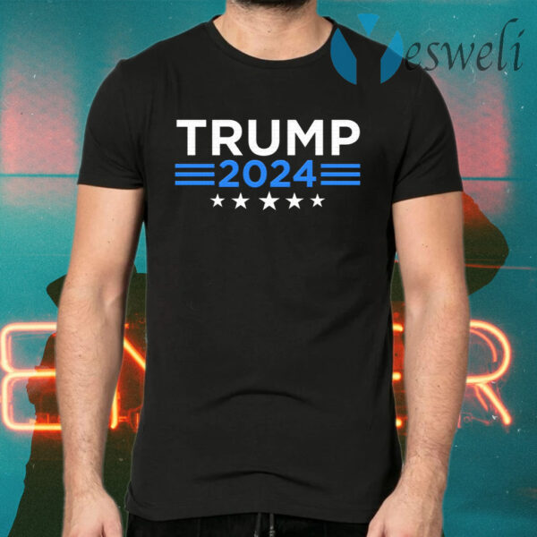 Trump For 2024 Vote For Trump 2024 Election T-Shirts