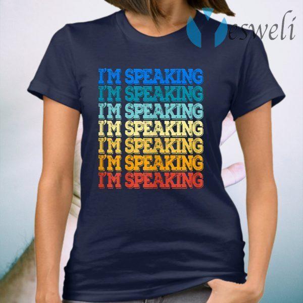 Vintage Mr Vice President I am Speaking Kamala Biden Harris T-Shirt