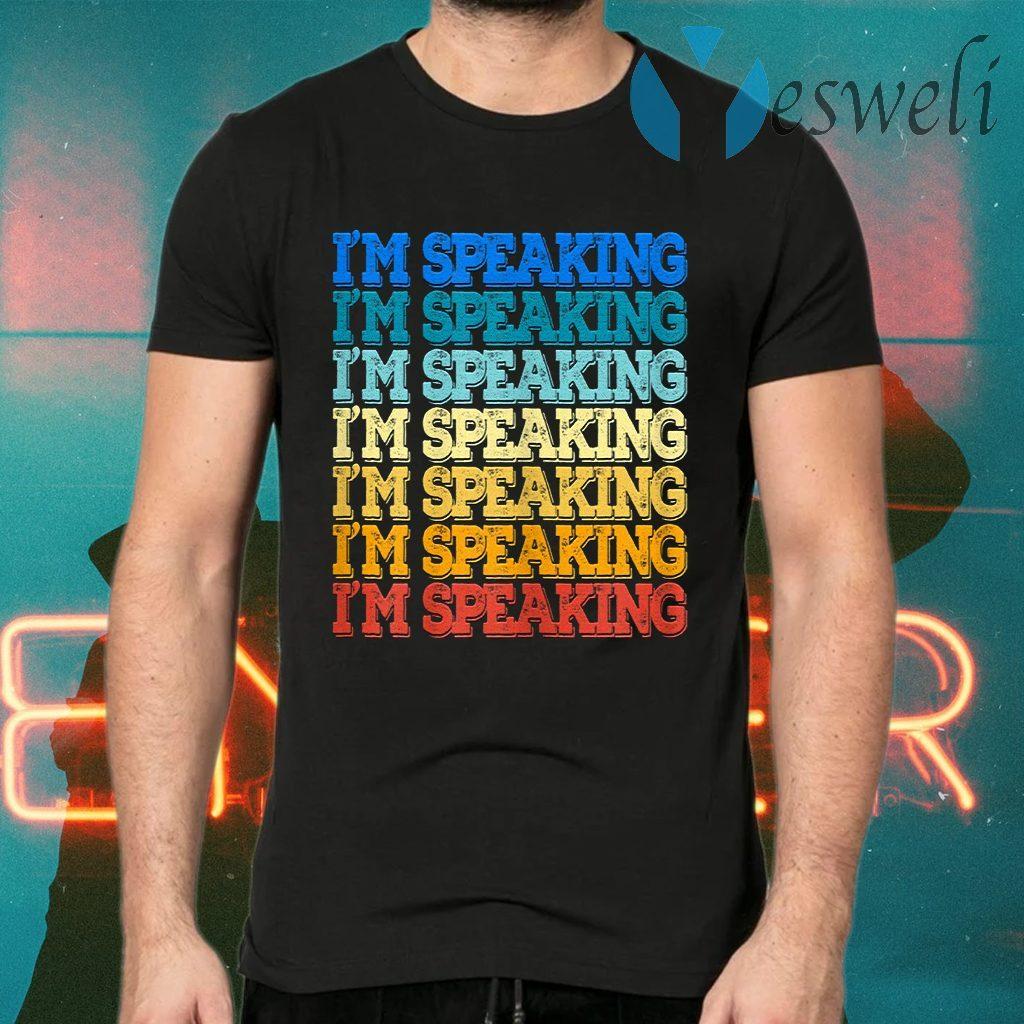 Vintage Mr Vice President I am Speaking Kamala Biden Harris T-Shirts