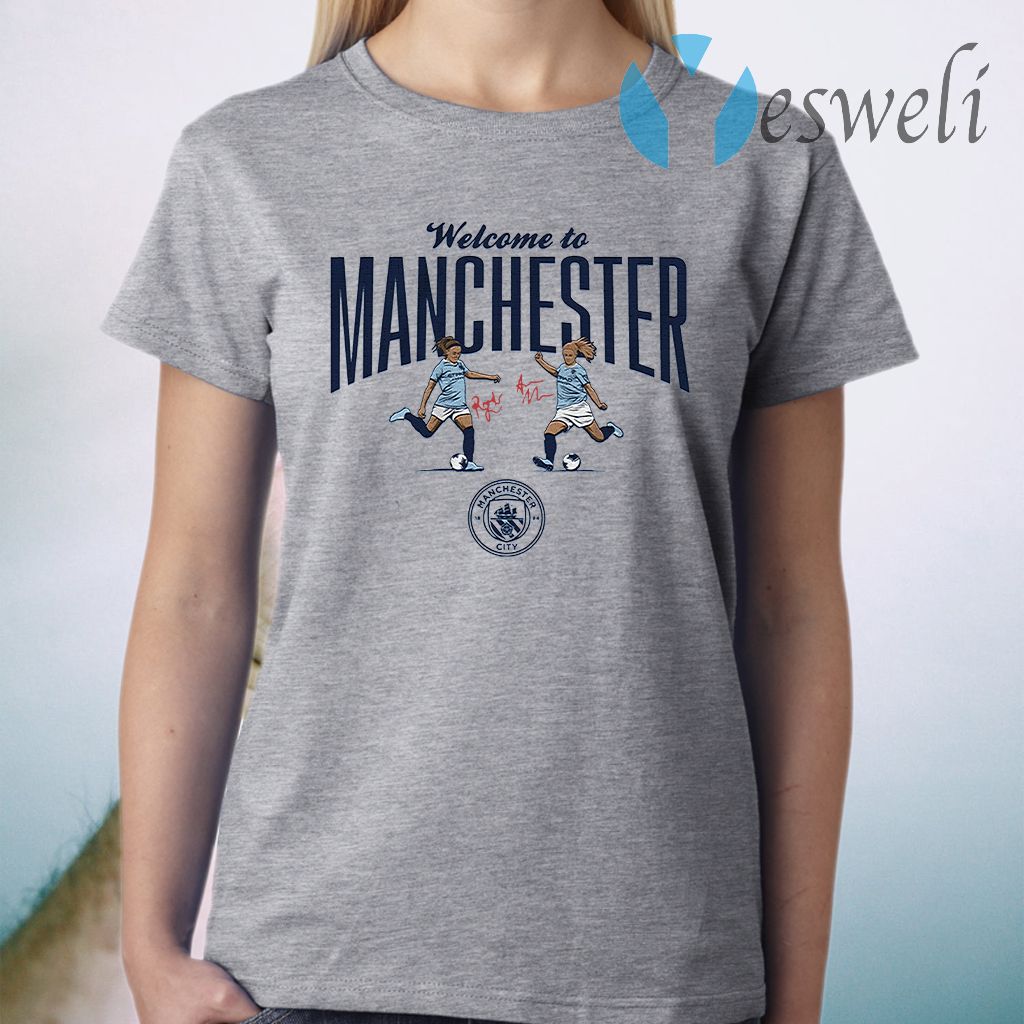 Welcome to manchester city T-Shirt