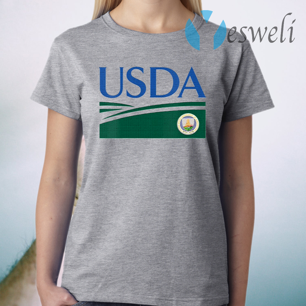 Womens United States Department Of Agriculture Usda Retired T-Shirt