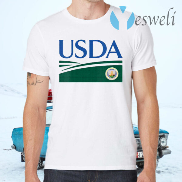 Womens United States Department Of Agriculture Usda Retired T-Shirts