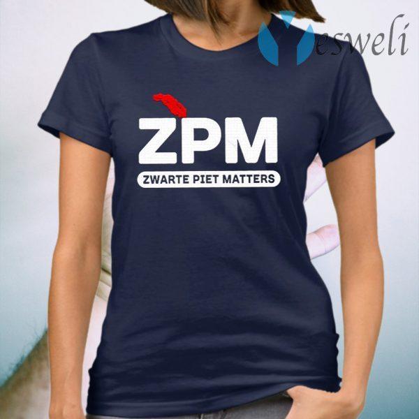 Zpm Zwarte Piet Matters T-Shirt