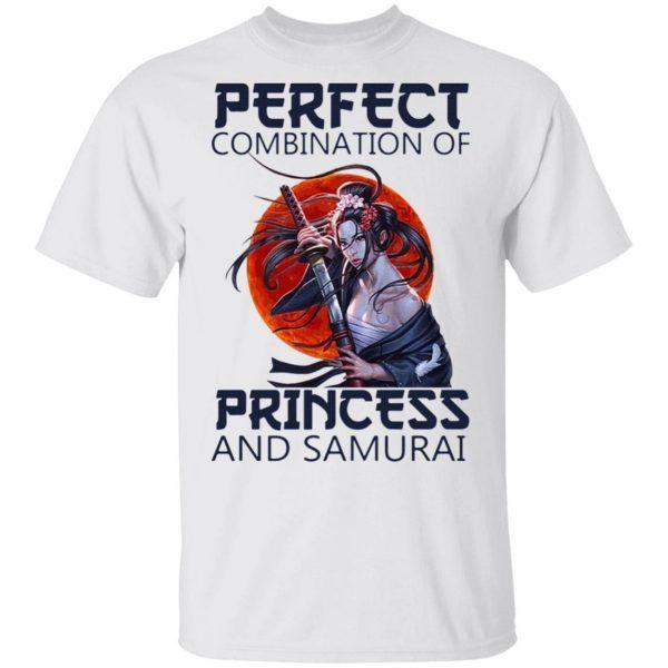 Perfect combination of princess and Samurai T-Shirt