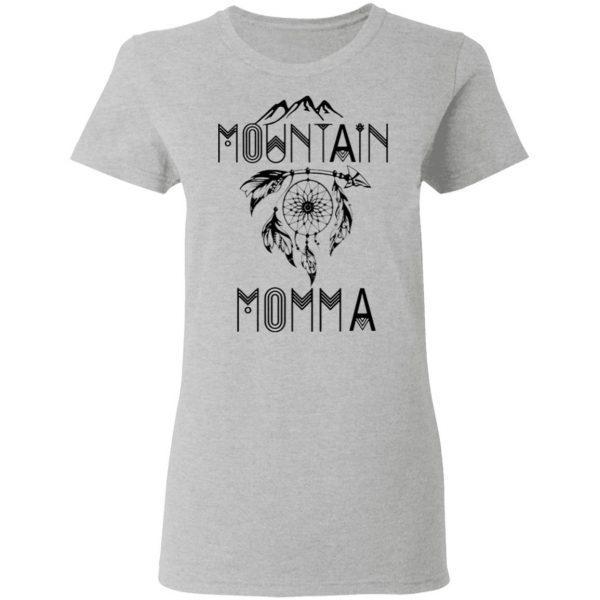 Outdoor Mountain Momma Dreamcatcher T-Shirt