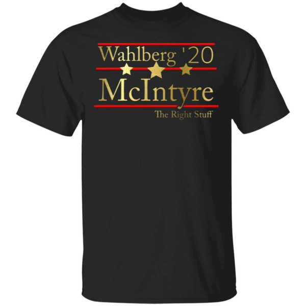 Wahlberg 2020 Mcintyre The Right Stuff T-Shirt