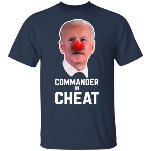 Commander in Cheat T-Shirt