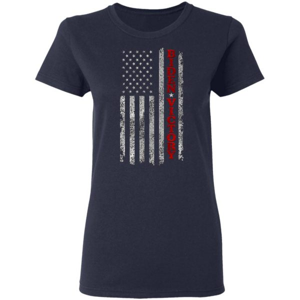 Biden Victory Shirt Vintage American Flag Biden Harris 2020 Premium T-Shirt