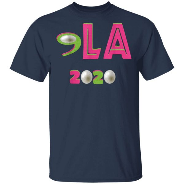 Comma LA 2020 Funny AKA 2020 Vote Joe Biden Kamala Harris T-Shirt