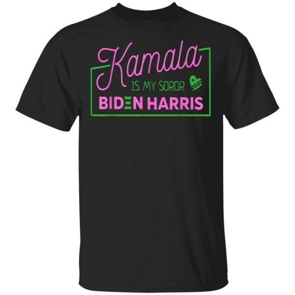 Kamala Is My Soror Sister Biden Harris Election Democrat T-Shirt