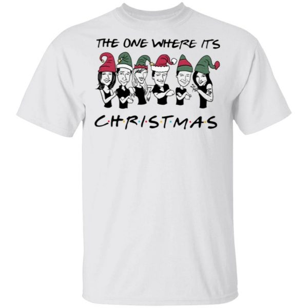 Friends The One Where It's Christmas T-Shirt