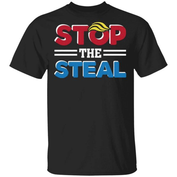 Stop The Steal – Fraud Results Voter 2020 Election Pro Trump Anti Biden T-Shirt