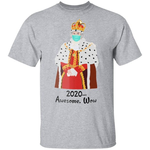 Hamilton Inspired King George 2020 Awesome Wow Novelty 11 Ounce T-Shirt