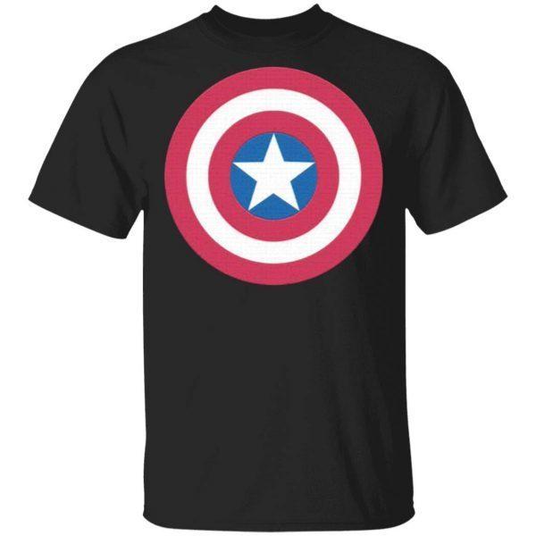 Captain America's Shield Superhero T-Shirt