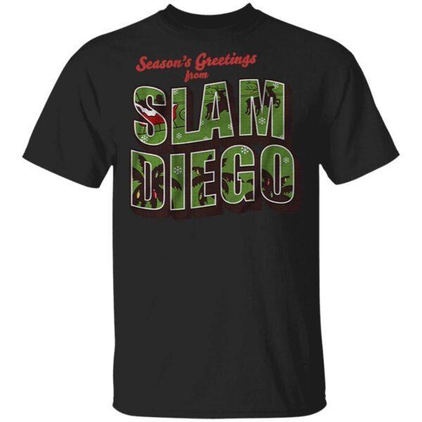 Seasons greetings from slam diego T-Shirt