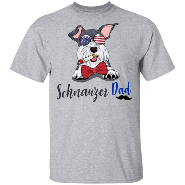 Dog schnauzer dad T-Shirt