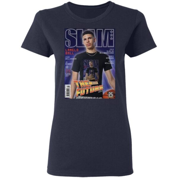 Where did lamelo ball get drafted to T-Shirt