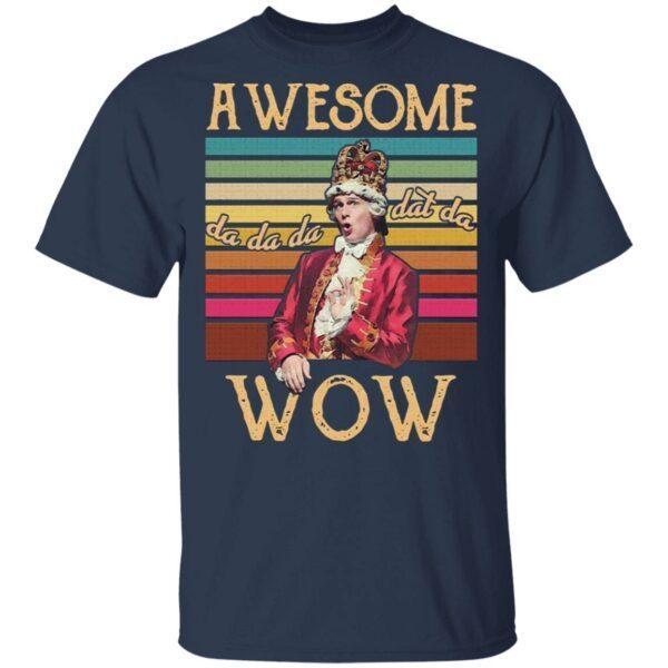 Aweomse Da Dad Da Wow Vintage Retro T-Shirt