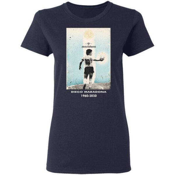 Goodbye Diego MRDN 1960 2020 T-Shirt