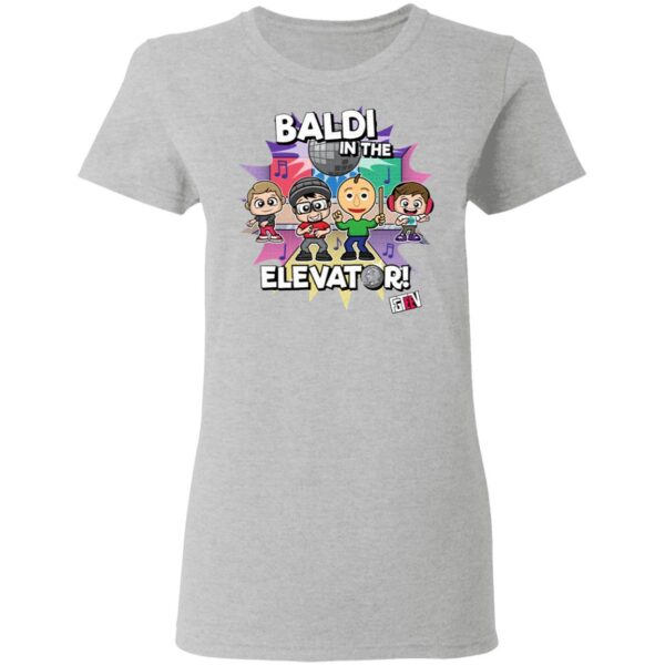 Baldi In The Elevator T-Shirt