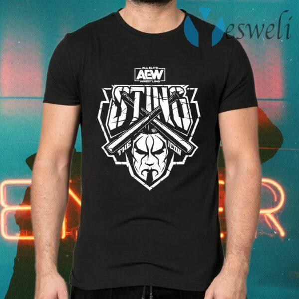 All Elite Wrestling Sting Justice T-Shirts