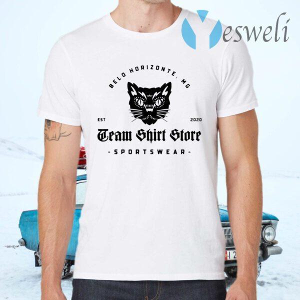 Belo Horizonte Mg Tram Shirt Store Sportswear T-Shirts