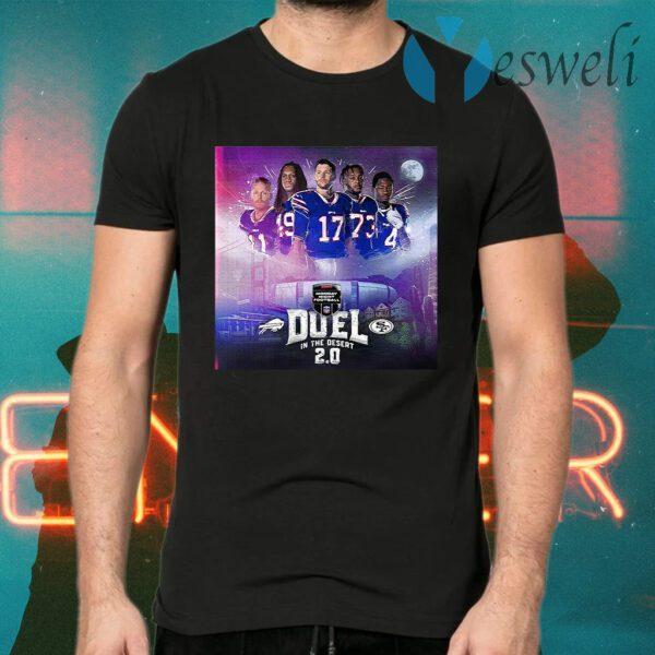 Buffalo Bills monday night football duel in the desert 2.0 T-Shirts