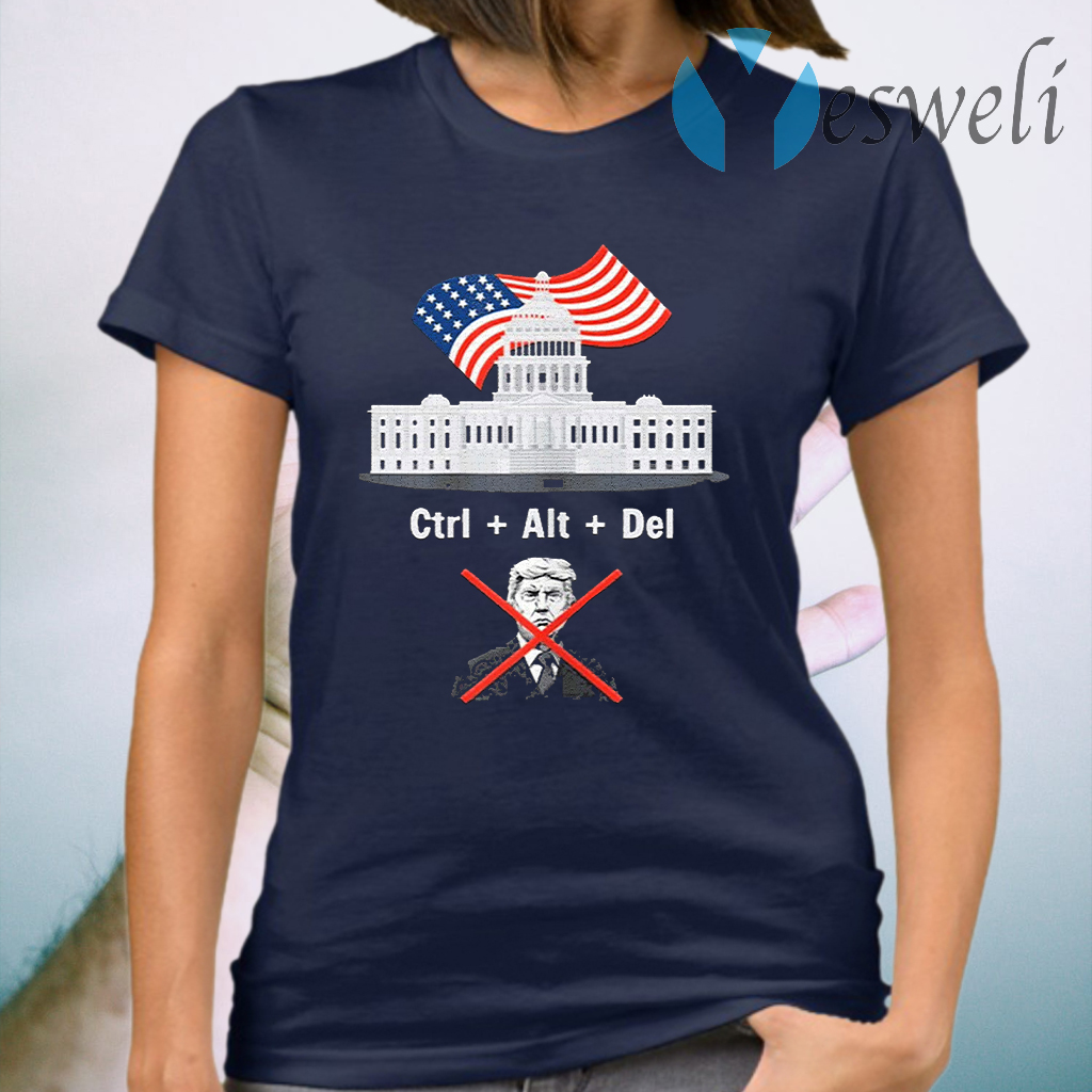 Byedon Trump sore loser get out of the house deleted T-Shirt