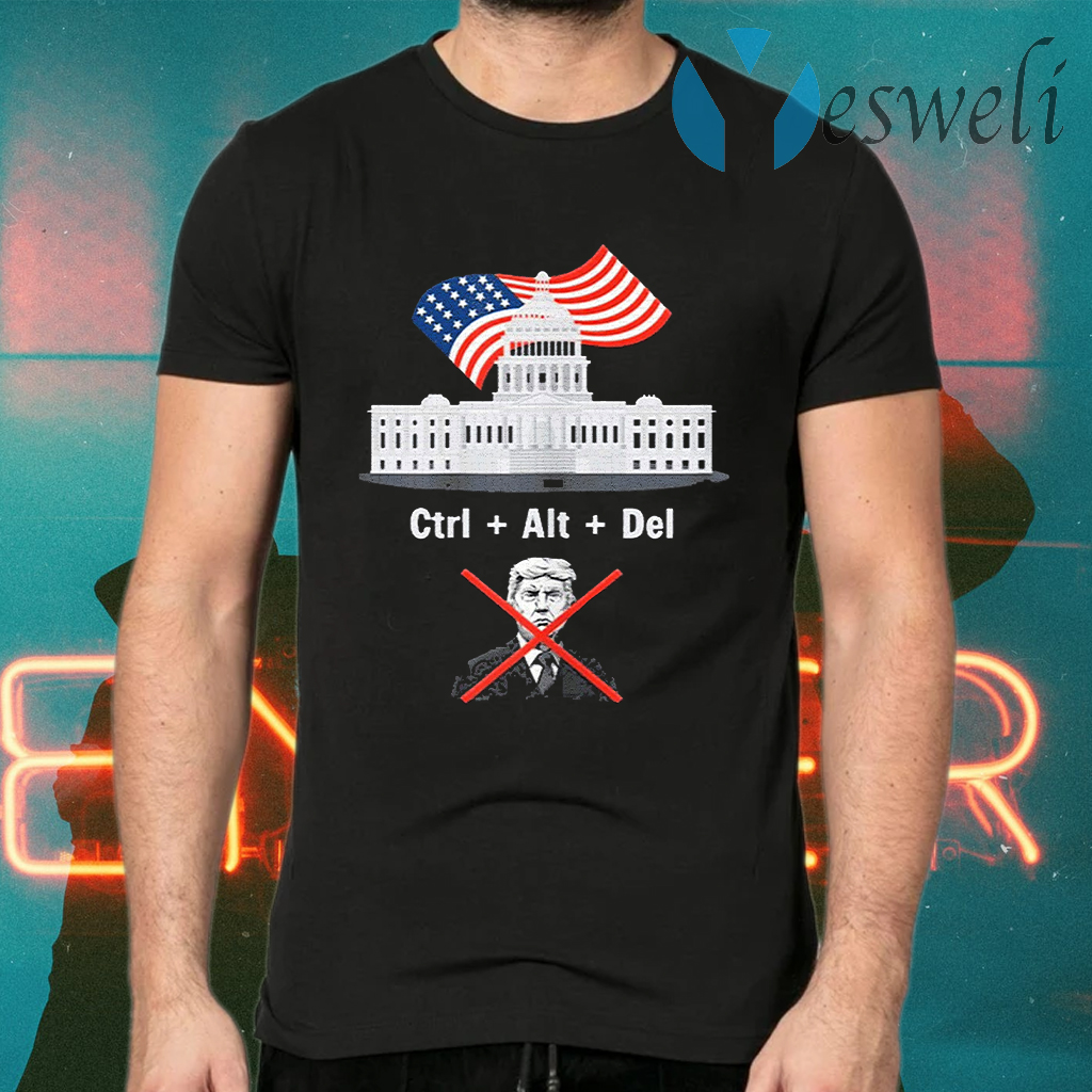 Byedon Trump sore loser get out of the house deleted T-Shirts