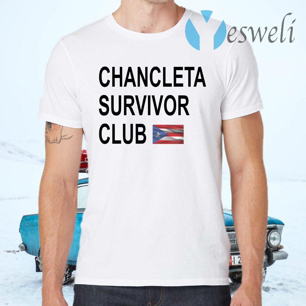 Chancleta survivor club T-Shirts