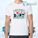 Christmas Quarantine Funny Christmas Lights T-Shirts