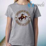 Cowboy American By Birth Cowboy By Choice T-Shirt