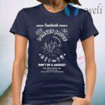 Guy Fieri Merchandise Donkey Sauce Don't Be A Jackass T-Shirt