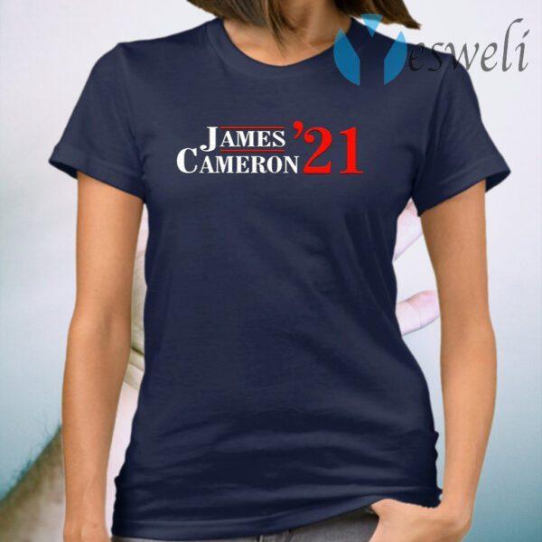 James Cameron '21 T-Shirt